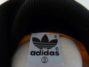 fake adidas label