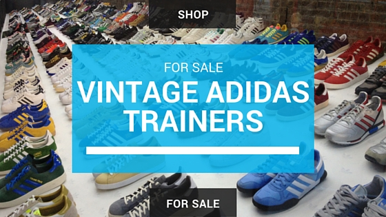 for sale vintage adidas trainers
