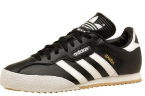 adidas samba super black white