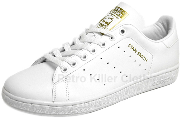 Adidas Shoes Stan Smith Gold
