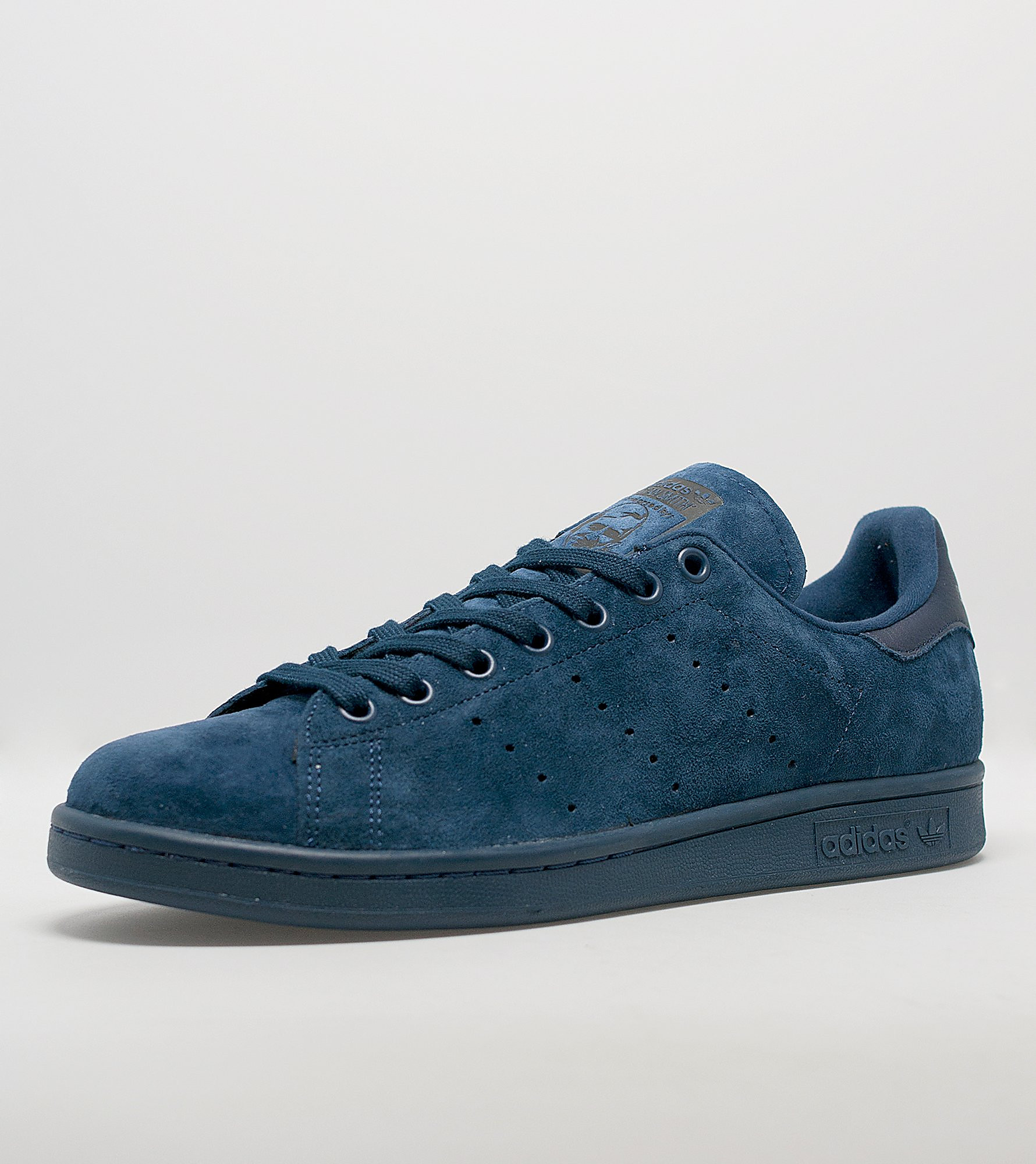 adidas stan smith blue leather packaging news. Black Bedroom Furniture Sets. Home Design Ideas