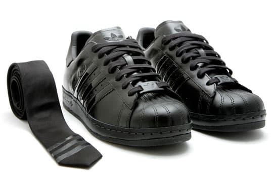 Adidas Superstar 1 Black And White