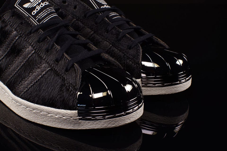 Vintage 90s Adidas Originals Superstar Trainers – The Black