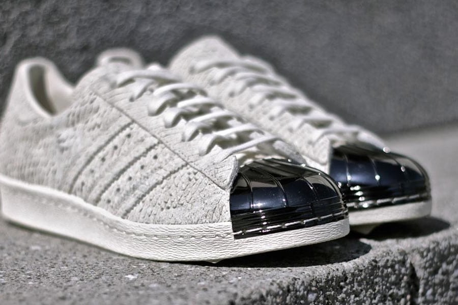 Adidas Superstar Black Tongue